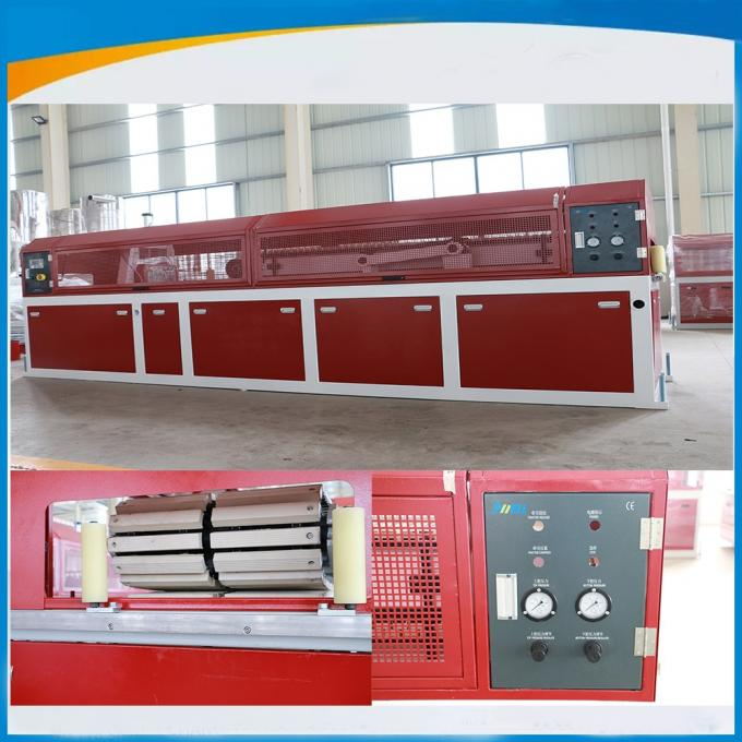 Standard Profile Dual Screw Extruder Extrusion Line Synthenic Wood Foam