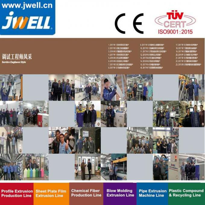 Jwell Pvc Electric Communication Pipe For 5G Internet Plastic Machine Extrusion Line