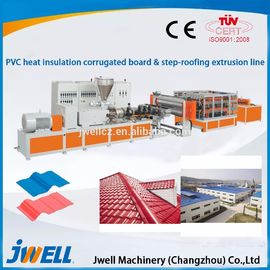 Heat Insulation Single Screw Extrusion Machine Continuous Working