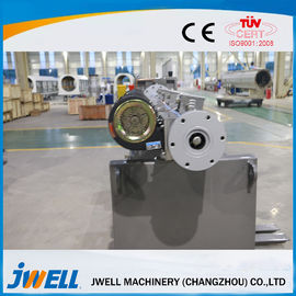 China PE WPC Plastic Extrusion Machine Simple Operation Heating Head Cut factory