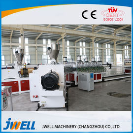China Fireproof WPC Extrusion Line , Wpc Profile Extrusion Machine Co Rotation Parallel factory