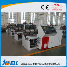 China Anti Flame Wpc Profile Extrusion Line Convenient Operation Compact Structure factory