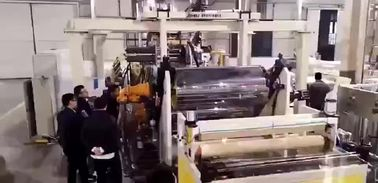 China PET Pvc Ceiling Making Machine , Pvc Wall Panel Extrusion Line SJZ80/156 Extruder factory