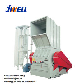 Wearable Plastic Crusher Machine All Welded Steel Material Rotating Blades