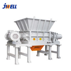 China Double Shaft Plastic Crusher Machine 15-37kw Power PLC Automatic Grade factory