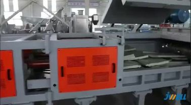 China 2-4 Ton Aluminum Can Crusher , Plastic Recycling Machine PP PET PVC Material factory