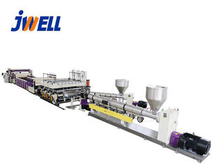China PP Plastic Sheet Extrusion Line , Plastic Film Extrusion Machine Template Board factory