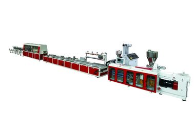 PVC Plastic Profile Extrusion Line Window Decoration Lines / Decoration Strips