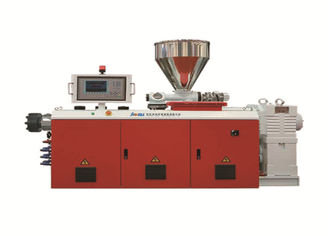 Jwell PVC PE PU Single Screw Extruder Plastic Making Machine