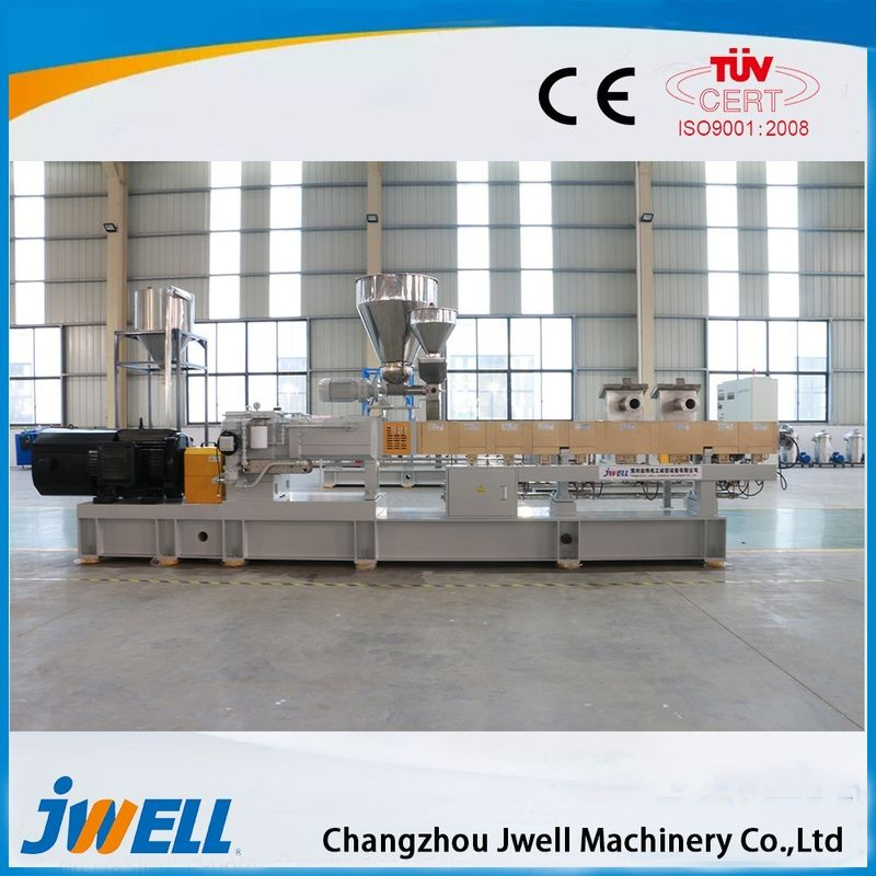 PVC Ribbed Plastic Pipe Extrusion Line , PVC Pipe Production Line Jwell Brand