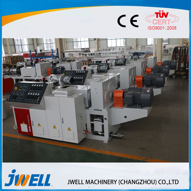 Jwell Wpc Extrusion Machine Thermo Embossing Equipment 1220-1600mm Width supplier