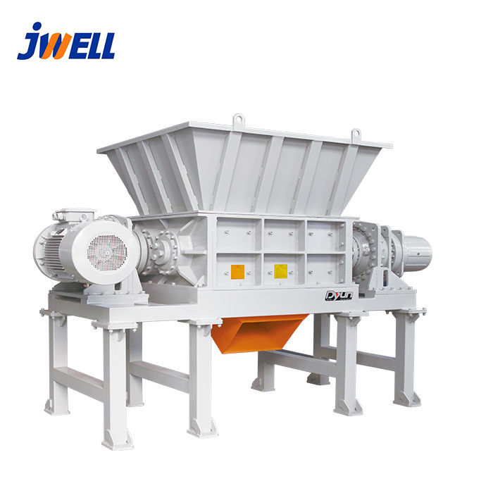 Double Shaft Plastic Crusher Machine 15-37kw Power PLC Automatic Grade