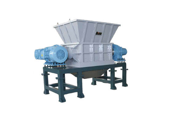Waste Tyre Plastic Crusher Recycling Machine Heavy Equipment Large Biaxial