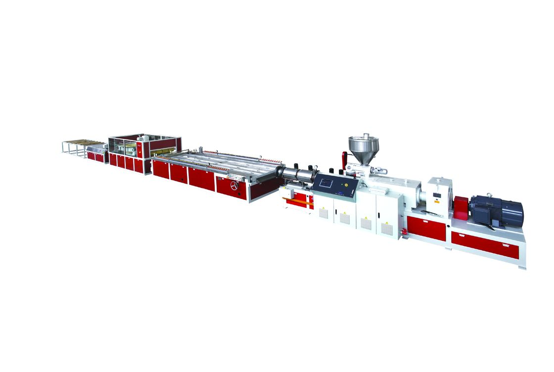 Jwell Wpc Extrusion Line Pvc Plastic Door And Frame Foaming Board Sound Insulation